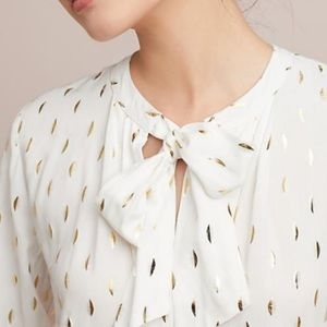 Monarc Anthropologie gallerist gold foil top